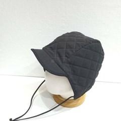 데일리 패딩 숏챙 왕대두 깊은 버킷햇 벙거지 모자