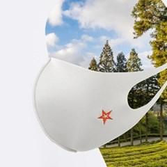 컴필 스타 빨아쓰는 구리 항균마스크 천마스크 중형 사이즈선택