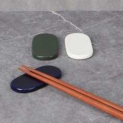 코튼 수저받침 2개 (색상선택)