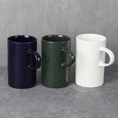코튼 머그컵 2개 (색상선택)