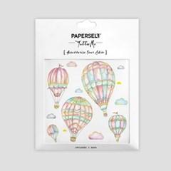 페이퍼셀프 타투스티커 - 9. Air Balloons