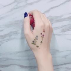 페이퍼셀프 타투스티커 - 3. Mini Bouquet