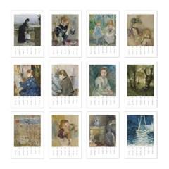 [2021 명화 캘린더] Berthe Morisot 베르트 모리조 Type B