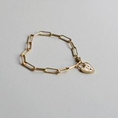 [Silver 925]원더랜드 인 하트락 에버 체인 팔찌