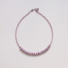 cats_purple_neck 퍼플 캐츠아이 원석목걸이