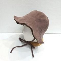 패션 양털 뽀글이 스웨이드 무스탕 버킷햇 벙거지 모자