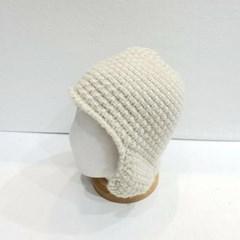 파스텔 패션 데일리 귀달이 니트 버킷햇 벙거지 모자