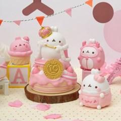 몰랑이 10주년 한정판 피규어세트 핑크에디션