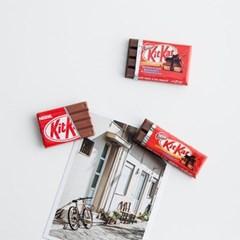 초콜릿 미니어처 냉장고 자석 마그넷 주방 인테리어 소품(3size)