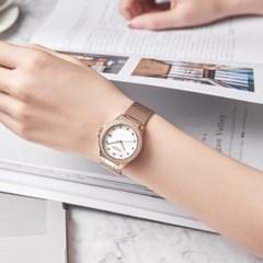 [쥴리어스스타 본사정품] JS-040 여성시계/손목시계/메쉬밴드
