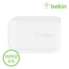 벨킨 32W USB-C PD + USB-A 듀얼 고속충전기 WCB004kr