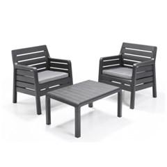 알리베 다나 발코니 야외테이블&의자 세트 정원가구 야외가구