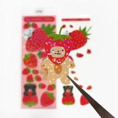 [또은팩토리] 딸기 씰스티커