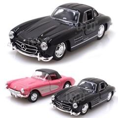웰리 1957 코브라 콜벳 + 벤츠 300SL 미니카 2P 세트