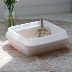 아이리스 중형 오픈형 고양이 화장실 CA-400N_(1871512)