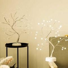 LED 크리스마스 자작나무 무드등
