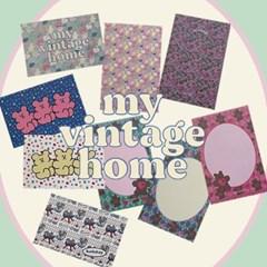 [뮤즈무드] postcard ver.19 my vintage home