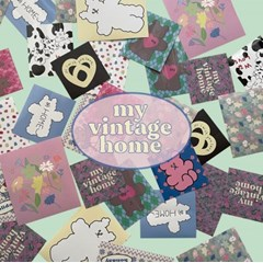 [뮤즈무드] my vintage home sticker pack