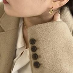 노티드 귀걸이 (2colors)
