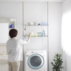 아이리스 욕실 다용도 세탁기 선반 STL-270_(1871941)