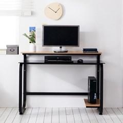 홈피스 보급형 1인용책상 일자책상 재택근무책상 책상_(3245013)