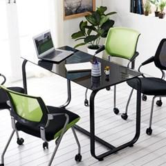 사무실테이블 홈피스 테이블 유리테이블 회의용테이블_(3245009)