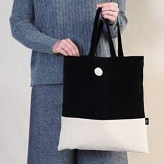 [corduroy bag] black