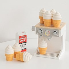 바잇미 아이스크림 라텍스 장난감 (삑삑)