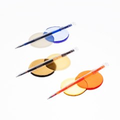 라이프앤피시스 투명 젤 펜 0.38mm (14종)