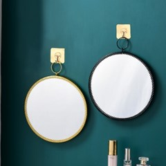 로맨틱 원형 거울