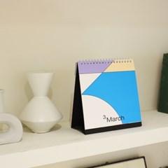 [B급 할인제품] 2021 Desk Calendar (2021년 탁상 달력)