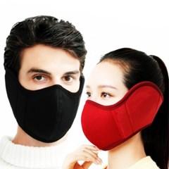 방한귀마개 에어 귀도리 마스크