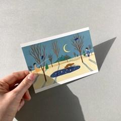 엽서_잃어버린 날들 Postcard_Empty Mind