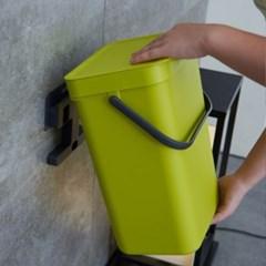 라이프토템 벽걸이휴지통 욕실 붙이는휴지통 위생용품수_(475859)
