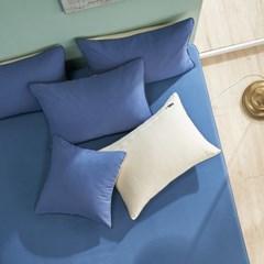 파스텔 항균 침대 매트리스 커버 S