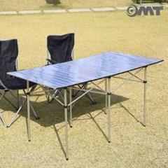 휴대용 접이식 알루미늄 특대형 롤테이블 캠핑선반 1300*700 6인용