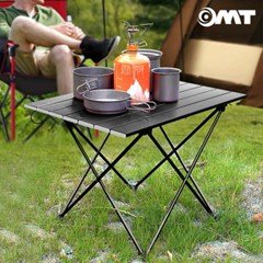 휴대용 접이식 알루미늄 폴딩 롤 테이블 캠핑선반 680*460 대형