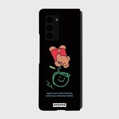 Doodle bear-black(Z폴드2-하드)_(1718660)