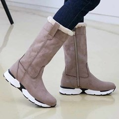 kami et muse Mustang middle fur boots_KM20w272