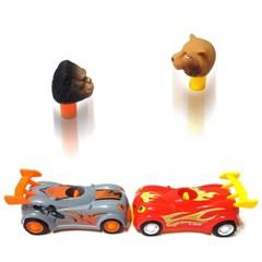 우당탕탕 탈출카 2종 슈팅카 동물자동차 공룡자동차 장난감