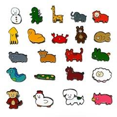 [눙눙이] 공룡 티롱이 뱃지
