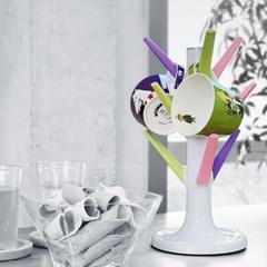 미르 나인 머그트리 실리콘 컵걸이 (컵 9개수납 가능)