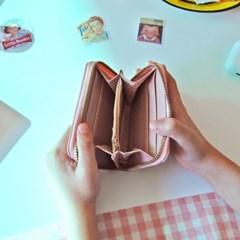 체리 동전 카드지갑
