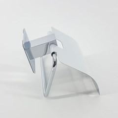 신개념 무타공 접착식 욕실 플리츠 휴지걸이 GJ-R1510A