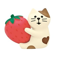 데꼴 2021 발렌타인 딸기고양이