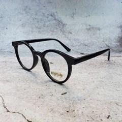 뿔테 도수없는 가벼운 블랙 투명 데일리 패션 안경