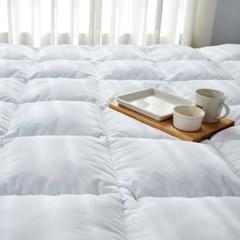 [10x10기획] 헝가리 구스 침대 토퍼 킹(K)