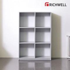 리치웰 엣지 3단6칸 책장 800 (오픈형)