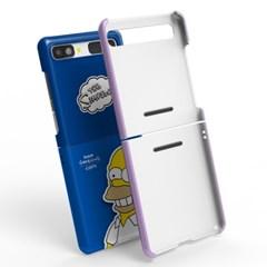 심슨 캐릭터 갤럭시 Z 플립 케이스 z플립 2 5g LTE 공용 커버
