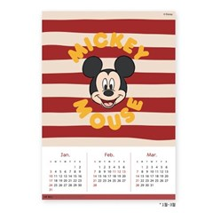 에어월 향균 탈취 미키 미니 디즈니 캘린더 포스터 원룸 인테리어 공